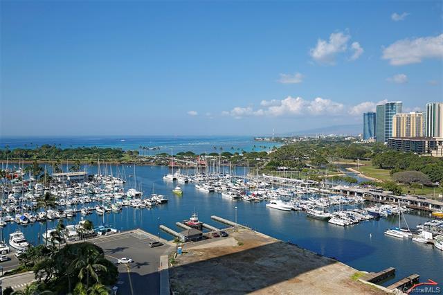 1676 Ala Moana Boulevard Unit 1402, Honolulu HI 96815