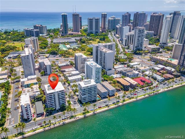 2029 Ala Wai Boulevard Unit PH 1, Honolulu HI 96815