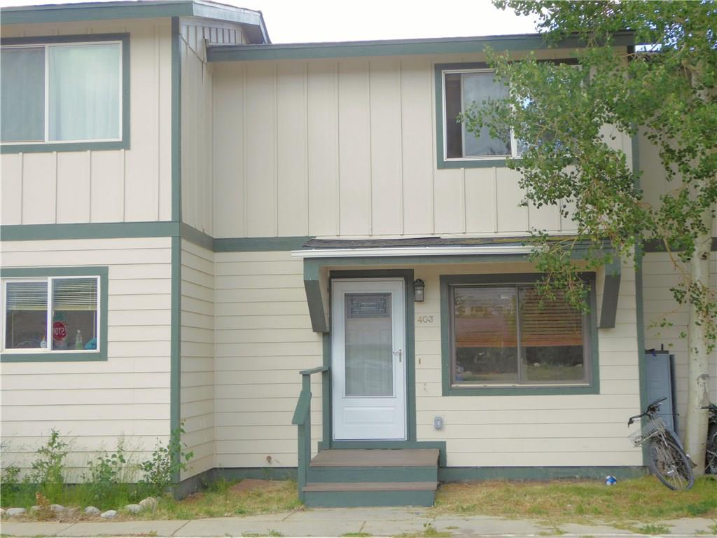 403 000004Th STREET Unit 403, Silverthorne CO 80498