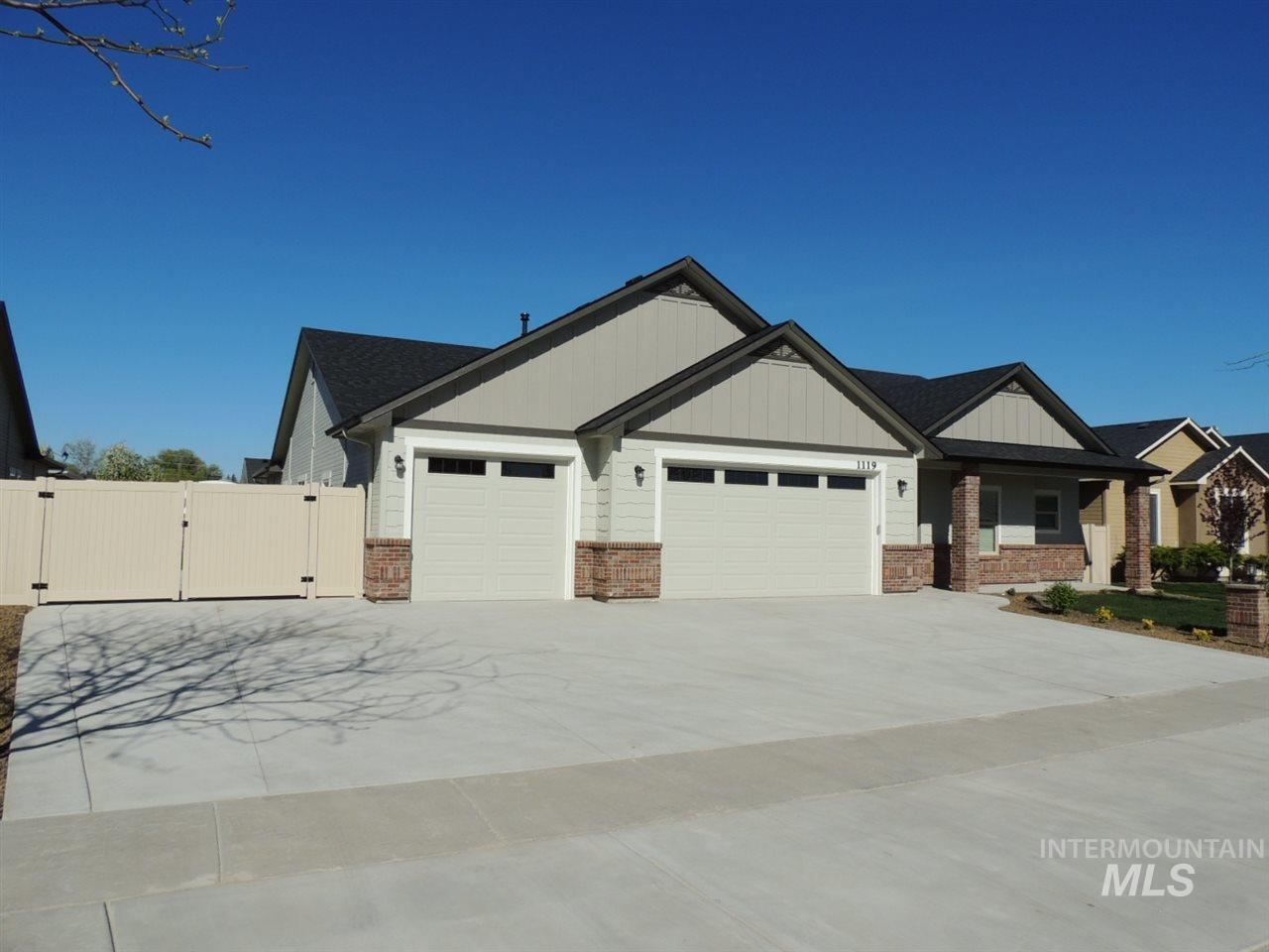 1119 S River Stone Drive, Nampa ID 83686