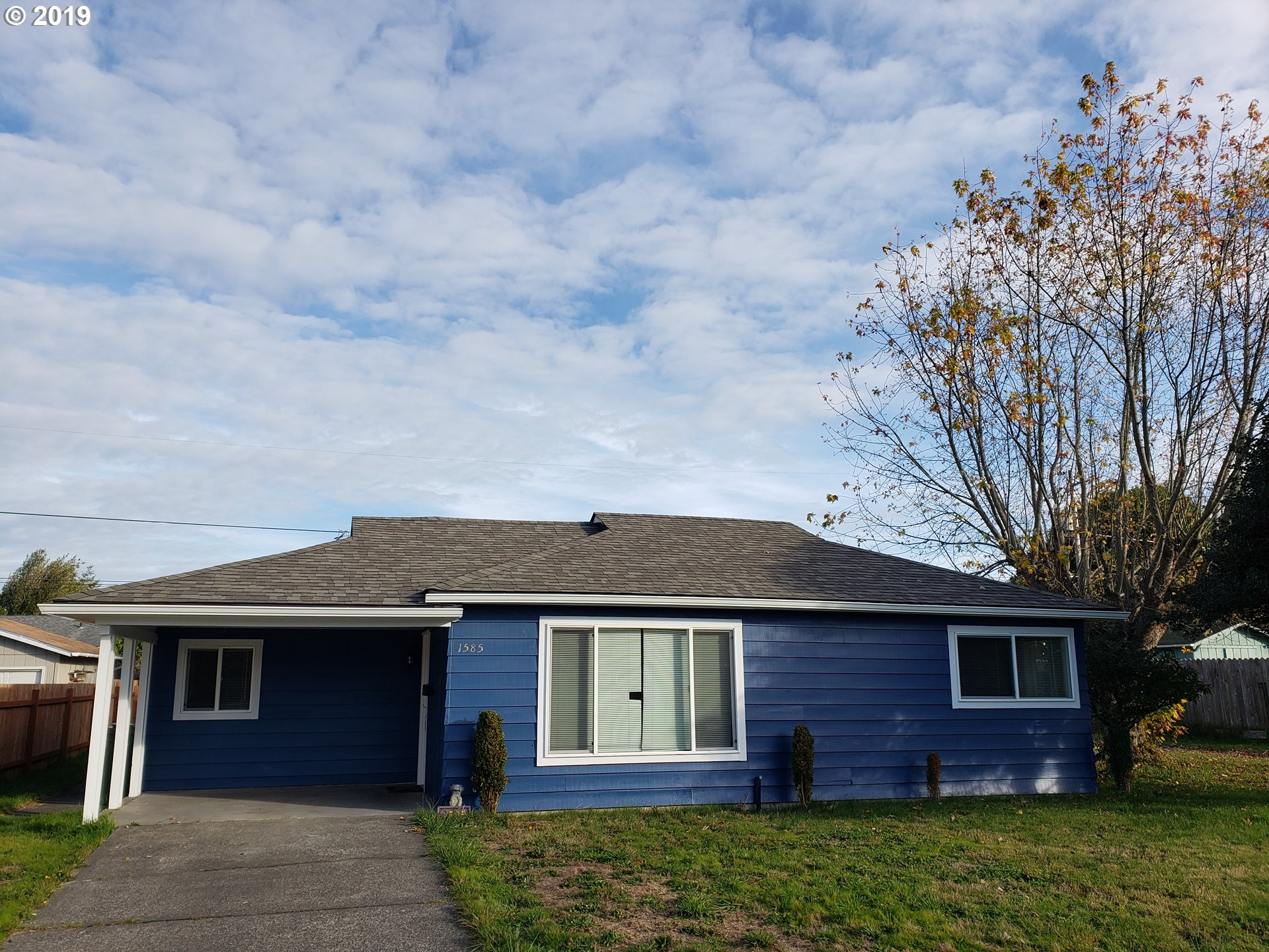 1585 GRANT , North Bend OR 97459